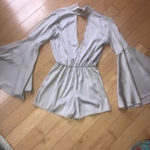 Oh my love London - SILK party romper